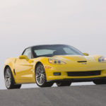 2009 Corvette ZR1.  X09CH_CR141  (United States)