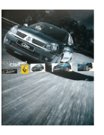 Renault Clio 2 RS Ragnotti 2002 Catalogue Brochure
