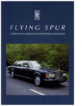 rolls-royce-flying-spur-1994-catalogue-brochure