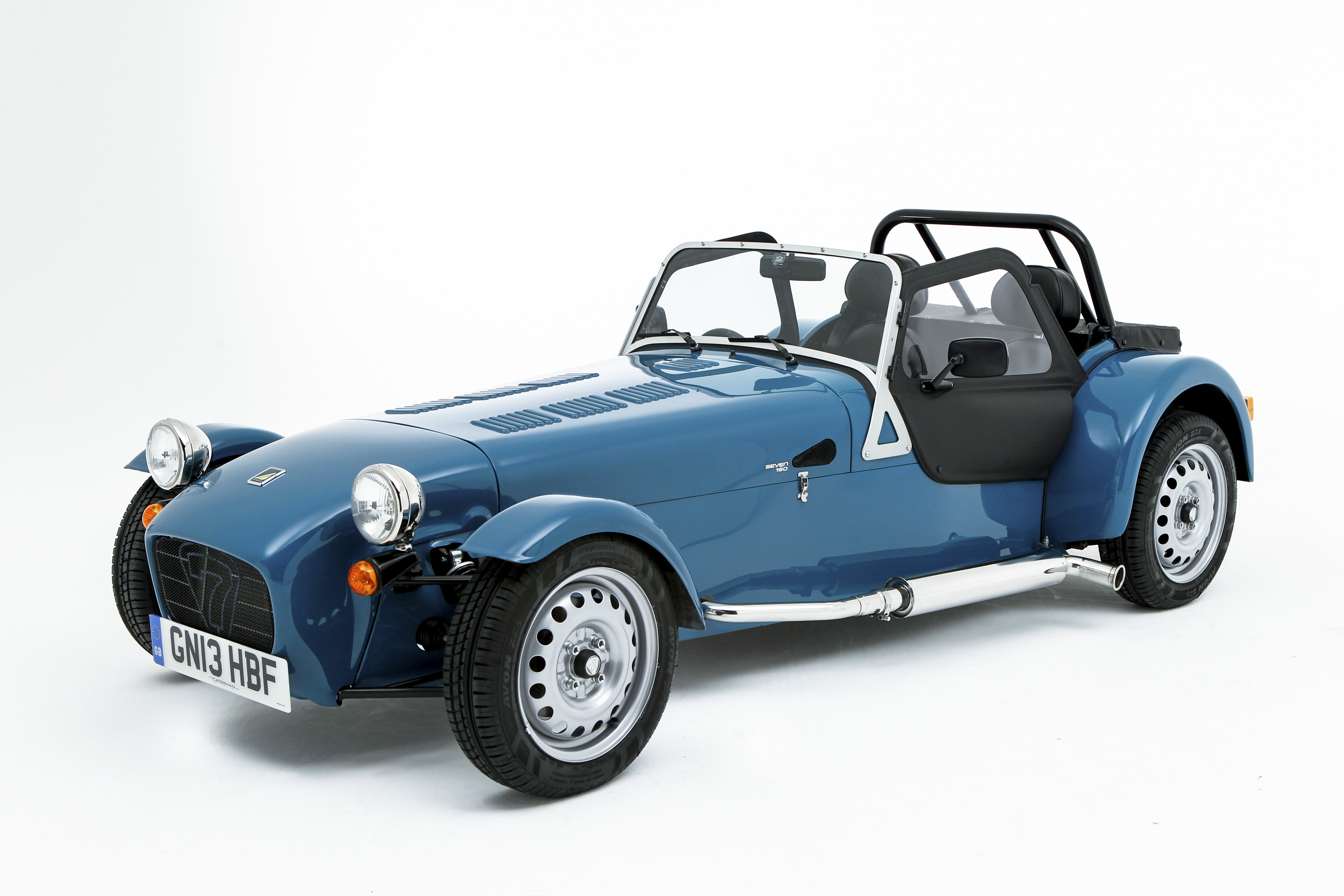 Caterham Seven 160 Holborn Studios, London N1 Oct 8th 2013  Photo - Jed Leicester Mb 07967 091226