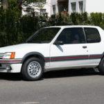 Peugeot 205 GTI 1,6 litres 115 ch (1986)