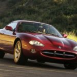 2002 Jaguar XK Series.
