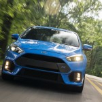 The unique EcoBoost® engine in the all-new Focus RS will produce 350 horsepower – far exceeding original estimates of 315 – along with 350 lb.-ft. torque.