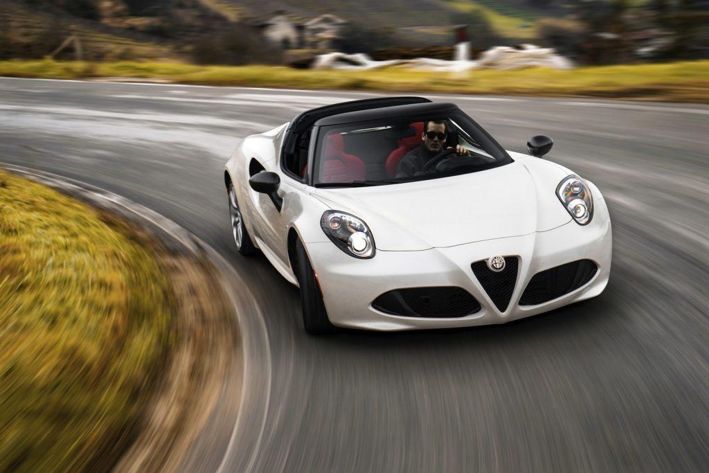 Alfa-Romeo 4C Spider (2014)