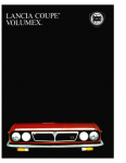 Lancia Beta Coupé Volumex 1983 Brochure