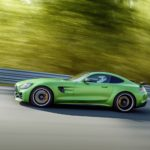 AMG GT R; 2016; Rennstrecke; Exterrieur: AMG Green Hell magno ;Kraftstoffverbrauch kombiniert: 11,4 l/100 km, CO2-Emissionen kombiniert: 259 g/km AMG GT R; 2016; race track; Exterior: AMG Green Hell magno; ; Fuel consumption, combined: 11.4 l/100 km, CO2 emissions, combined: 259 g/km