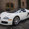 The Bugatti Veyron 16.4 Grand Sport convertible at the Ehlers Estate in St. Helena, CA, on Jun. 6, 2009. (Photo By: Peter DaSilva)