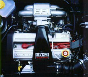 Ford Fiesta XR2i 16V (1992) - Moteur 1,8 litres 130 ch Zetec