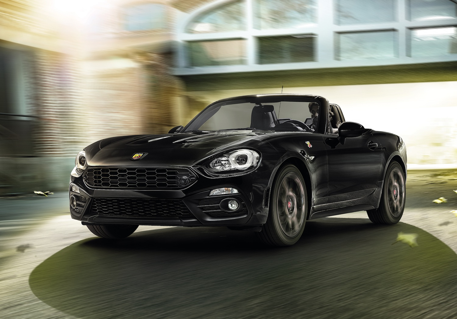 nouvelle abarth 124 spider scorpione gen ve. Black Bedroom Furniture Sets. Home Design Ideas