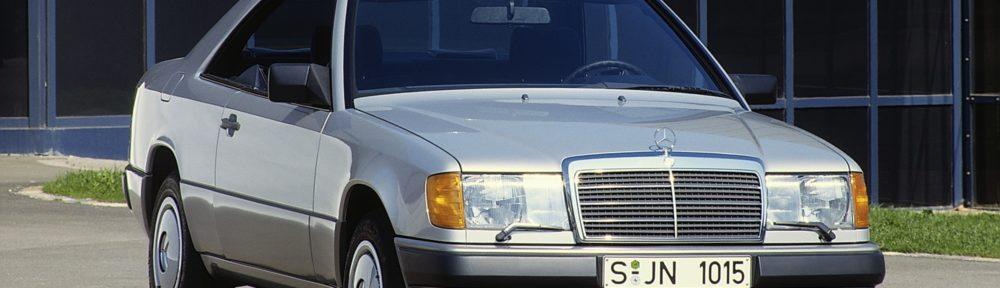 Mercedes-Benz Coupés der Baureihe 124