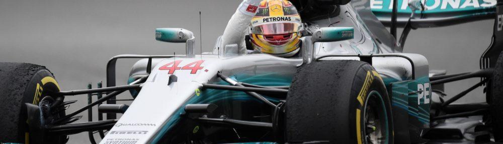 Formel 1 - Mercedes-AMG Petronas Motorsport, Großer Preis von China 2017. Lewis Hamilton ;  Formula One - Mercedes-AMG Petronas Motorsport, Chinese GP 2017. Lewis Hamilton;