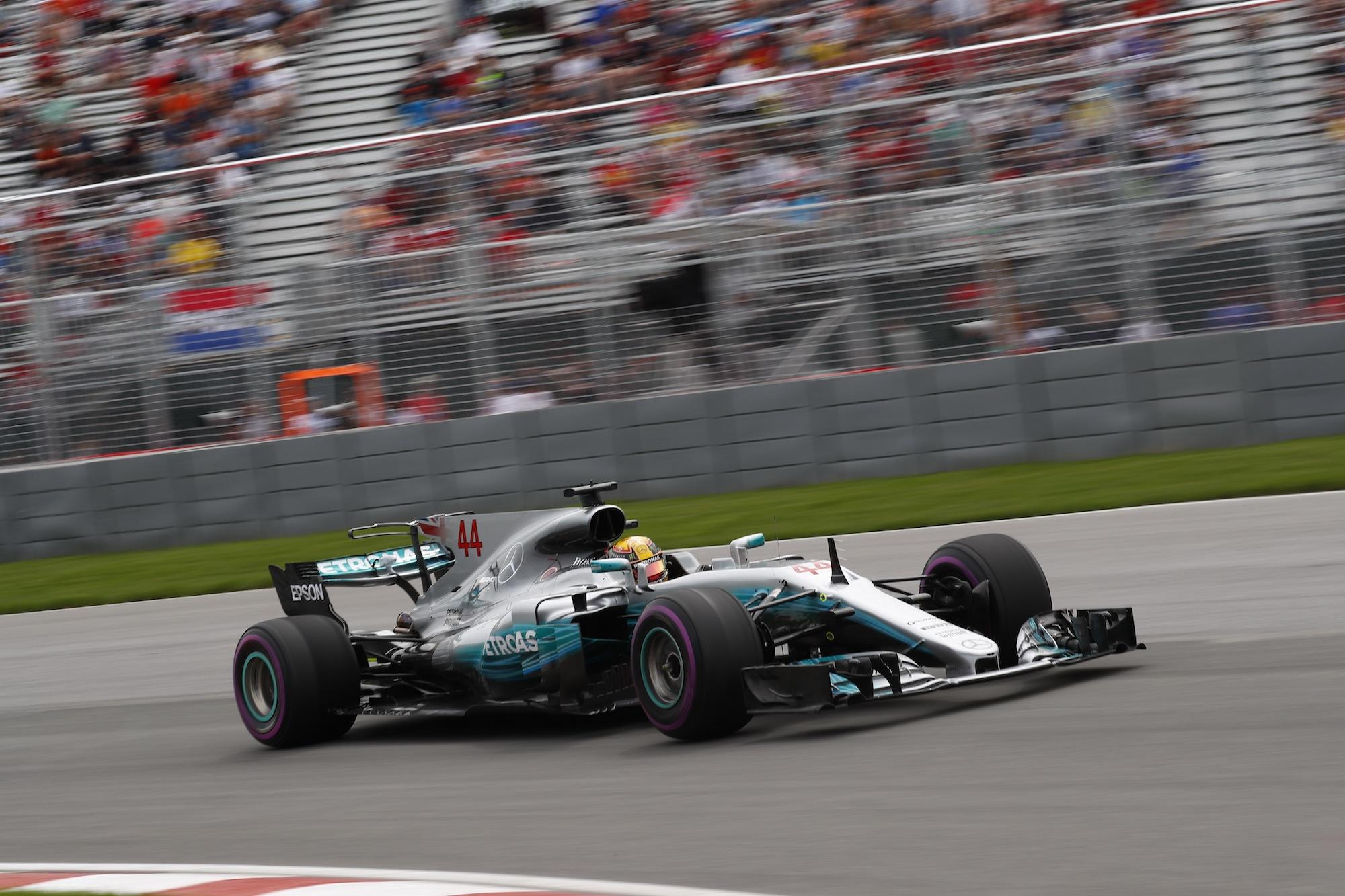 Formel 1 - Mercedes-AMG Petronas Motorsport, Großer Preis von Kanada 2017. Lewis Hamilton   Formula One - Mercedes-AMG Petronas Motorsport, Canadian GP 2017. Lewis Hamilton