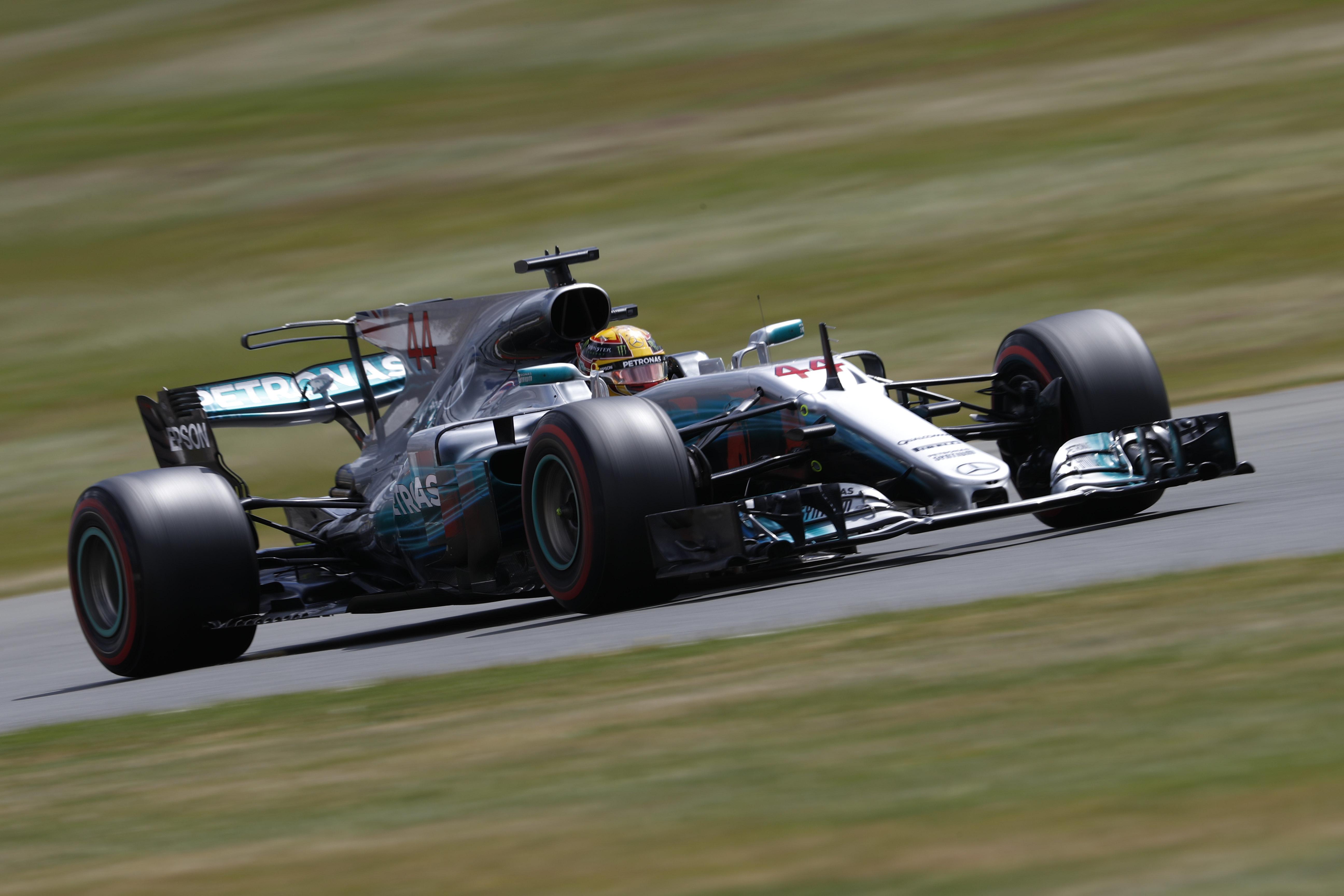 Formel 1 - Mercedes-AMG Petronas Motorsport, Großer Preis von Großbritannien 2017. Lewis Hamilton   Formula One - Mercedes-AMG Petronas Motorsport, British GP 2017. Lewis Hamilton