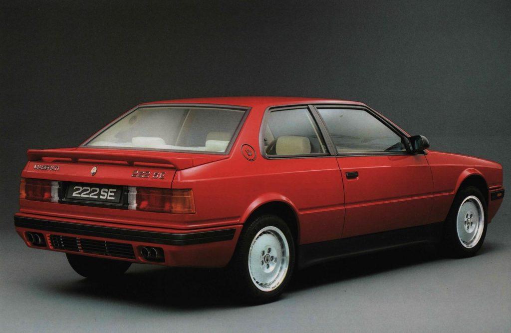 Maserati 222 SE Biturbo