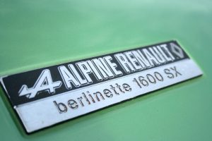 Alpine A110 1600 SX