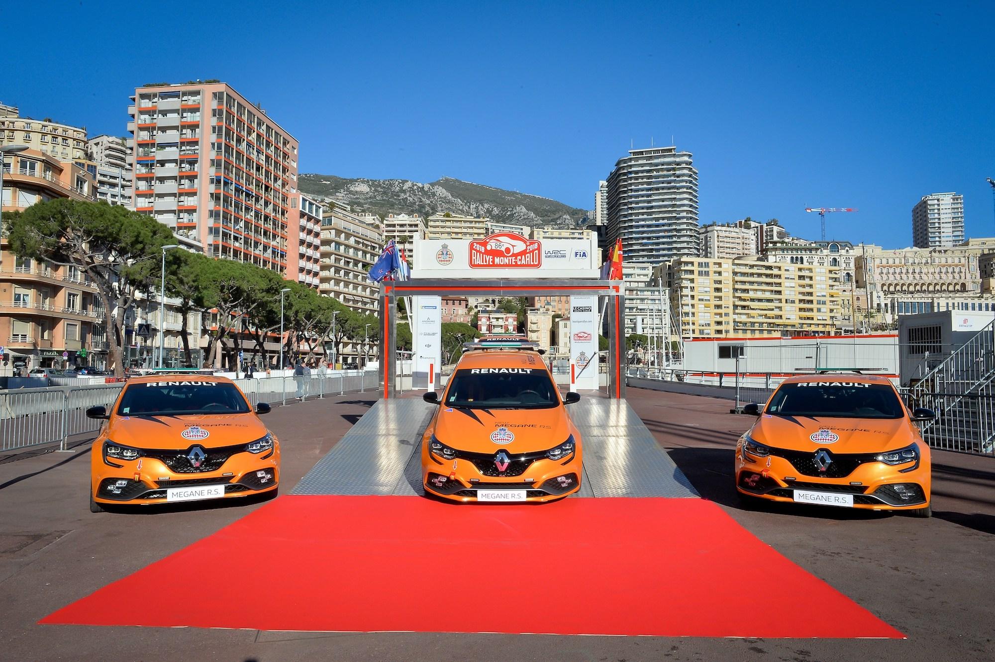 2018 - Remise des clefs de Renault MEGANE R.S. à l'Automobile Club de Monaco