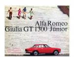 Alfa Romeo Giulia GT 1300 Junior Brochure
