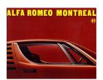 Alfa Romeo Montreal 1973 Brochure Hollande