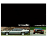 Lamborghini Espada Brochure 1976 Catalogue
