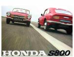 Honda S800 Brochure