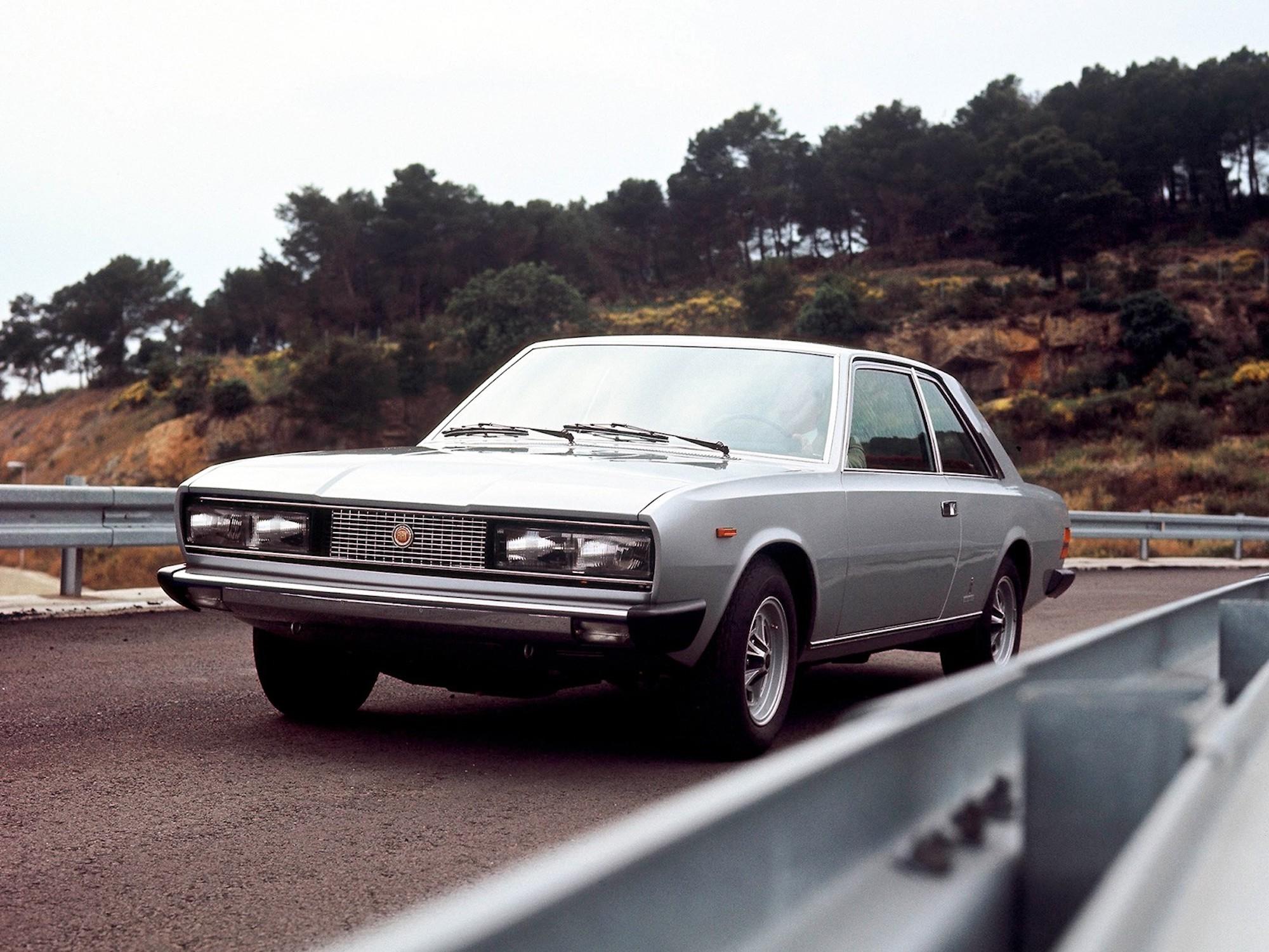 Fiat 130 Coupé V6 3200 1971-77