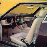 Maserati Ghibli Tipo 115M Intérieur