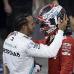 GP F1 Bahrain 2019 - Hamilton & Leclerc