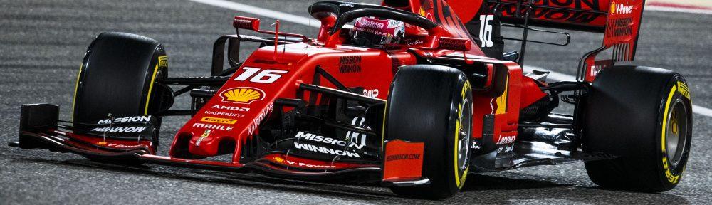 GP F1 Bahrain 2019 - Charles Leclerc (Ferrari)
