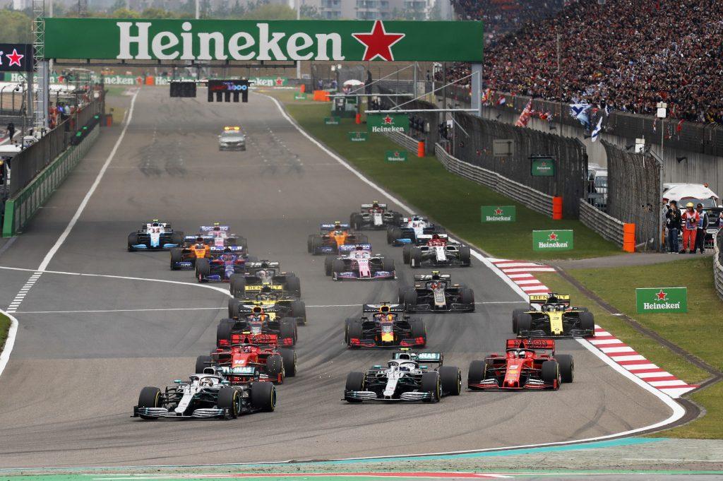 GP F1 Chine 2019