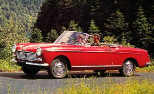 Peugeot 404 Cabriolet Injection (1962)