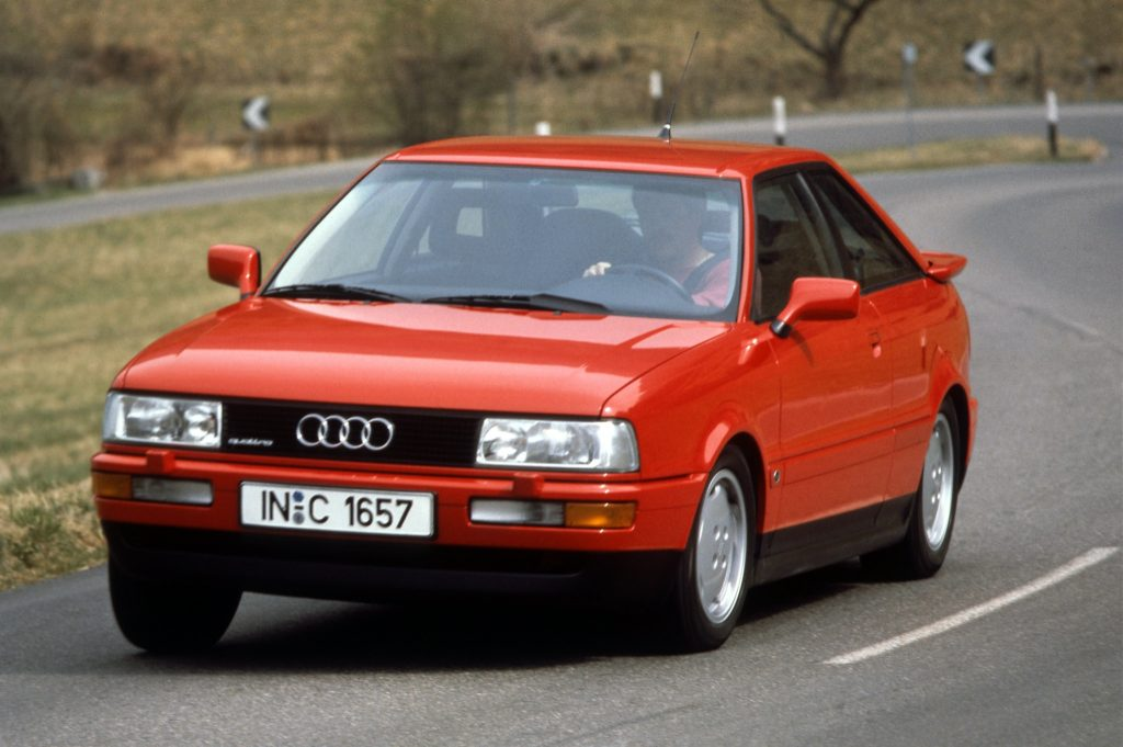 Audi Coupé 2L3 20V Quattro 8B