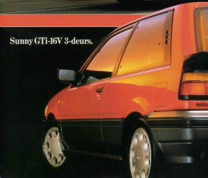 Nissan Sunny GTI 16V 1L8 N13