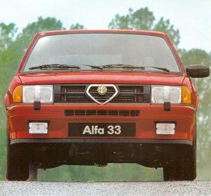 Alfa Romeo 33 Quadrifoglio Verde - QV (1984)