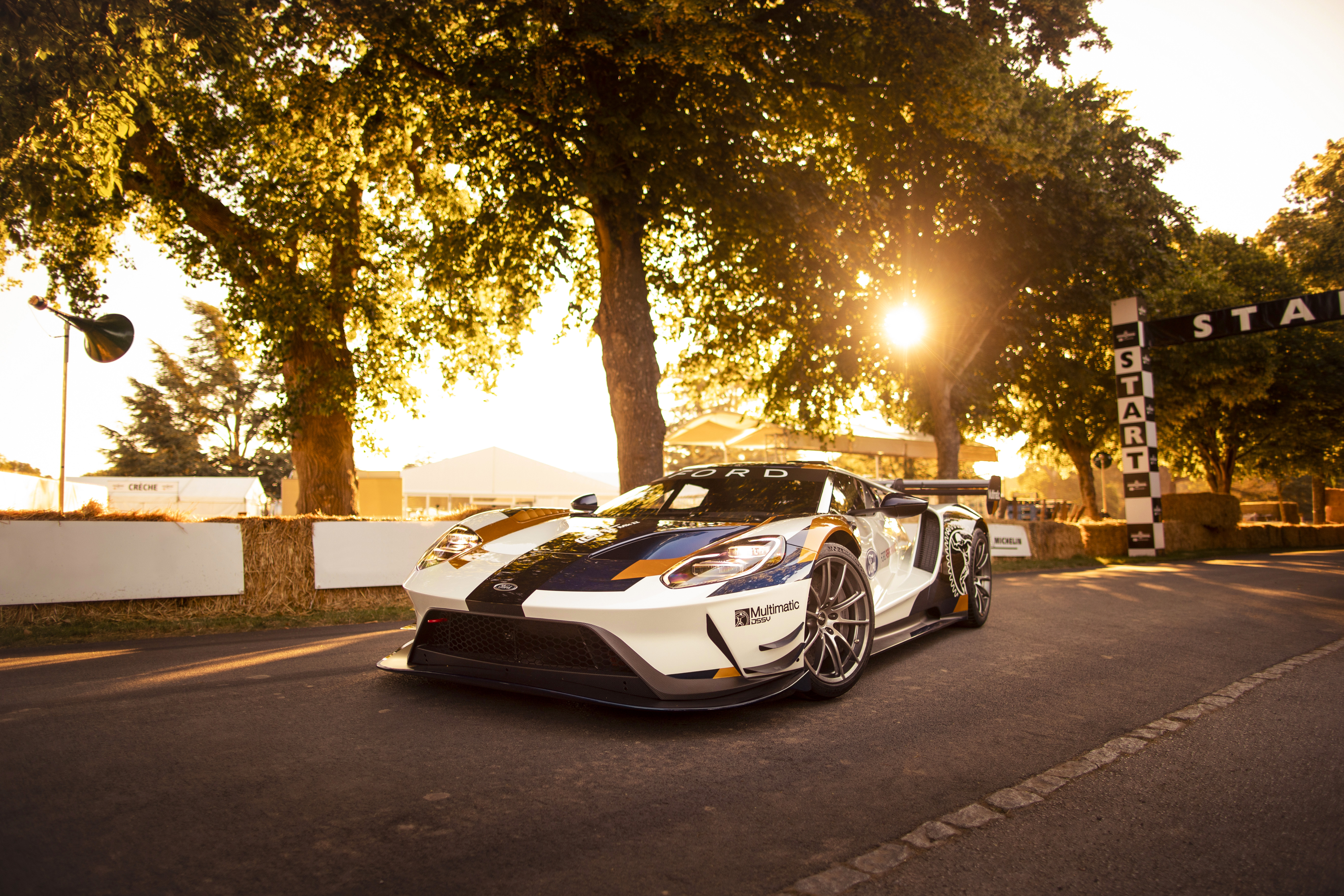 Ford GT MKII. Goodwood, England 2nd July 2019 Photo: Drew Gibson