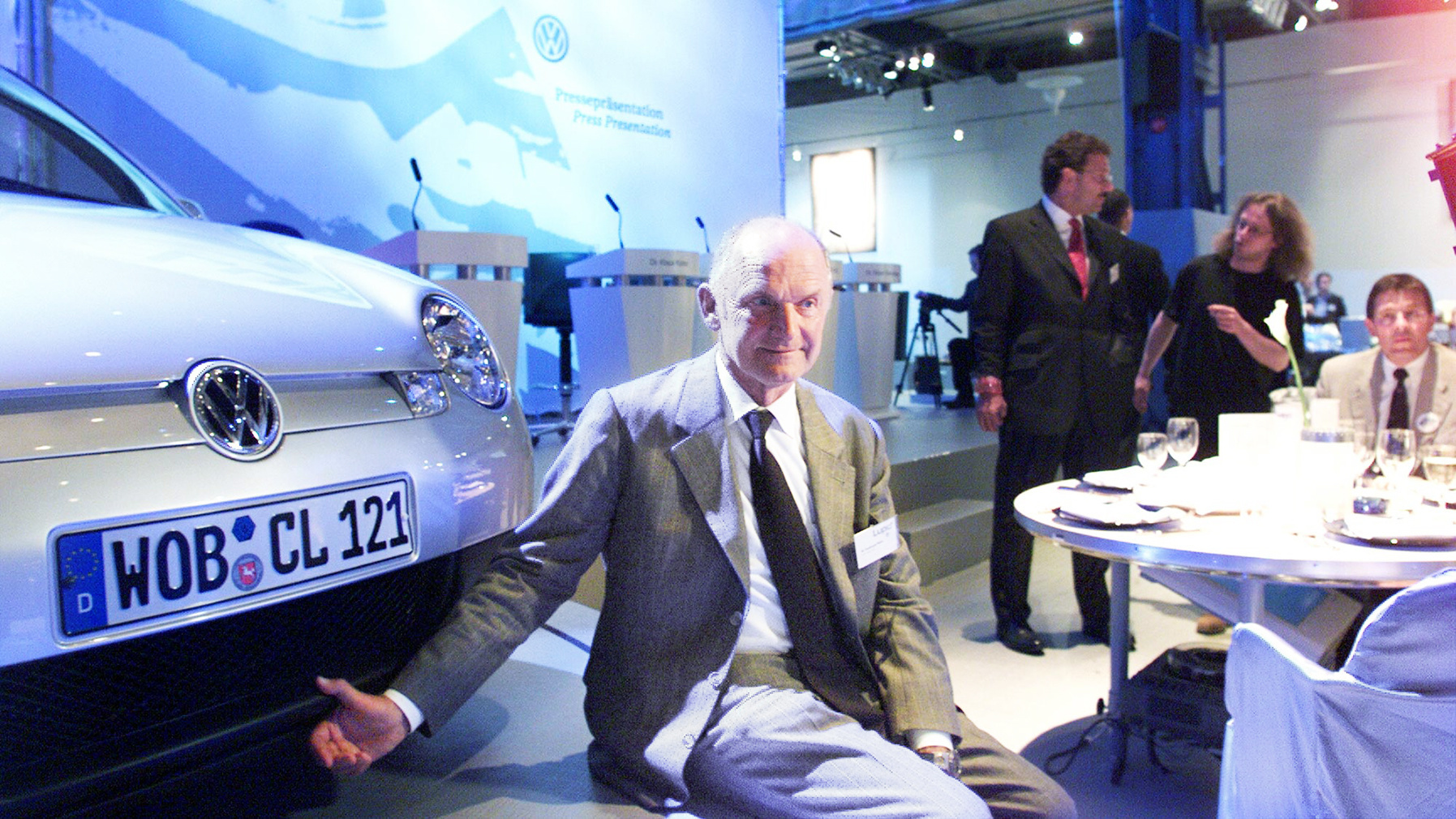 In 1999 Ferdinand Piëch presented the Lupo 3L TDI in Gothenburg, Sweden. The car made a mark as the world's first production car with a fuel consumption of less than three litres.