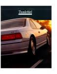 Ford Thunderbird Mk10 1992 Brochure