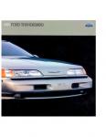 Ford Thunderbird Mk10 SC 1989 Brochure