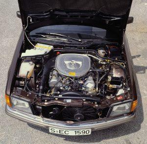 Mercedes-Benz 380 SEC W126 (1981)