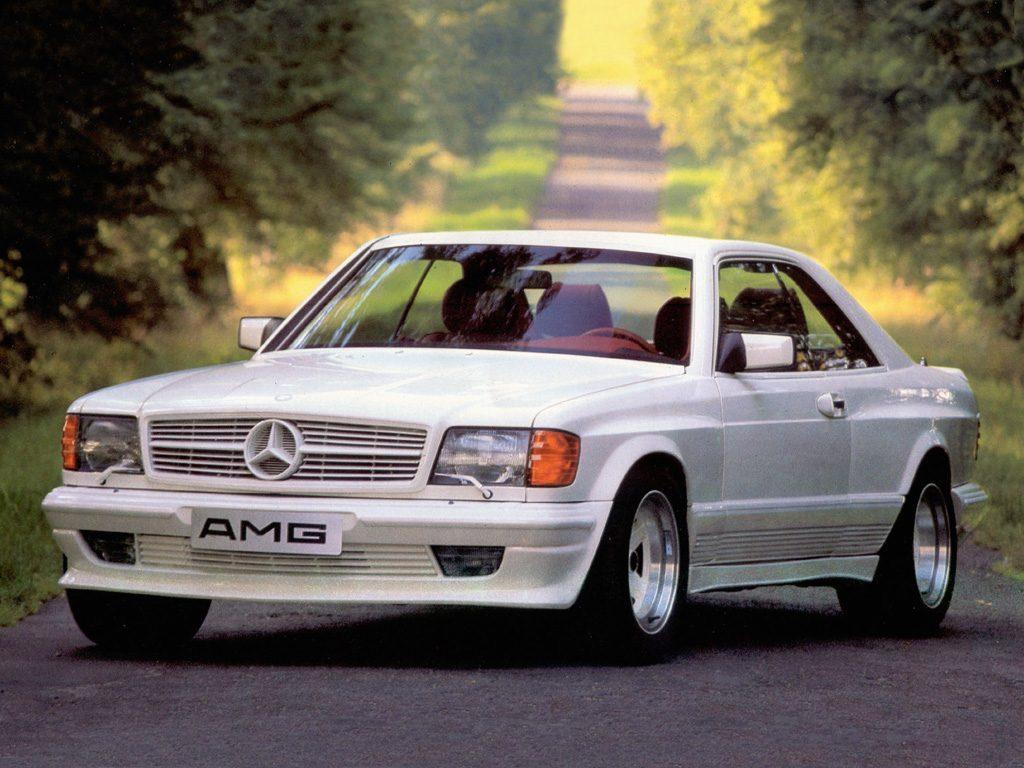Mercedes-Benz 500 SEC AMG 32V W126