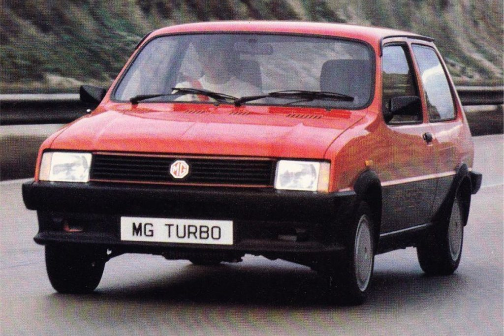 MG Metro Turbo (1983)