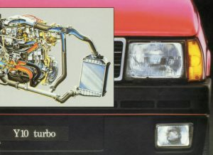 Autobianchi Y10 Turbo