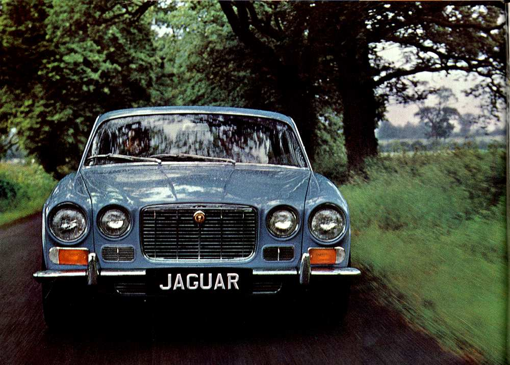 Jaguar XJ6 Serie 1 4L2 (1968)