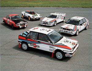 La Lancia Delta HF a perpétué une tradition rallyes dans la généalogie Lancia.