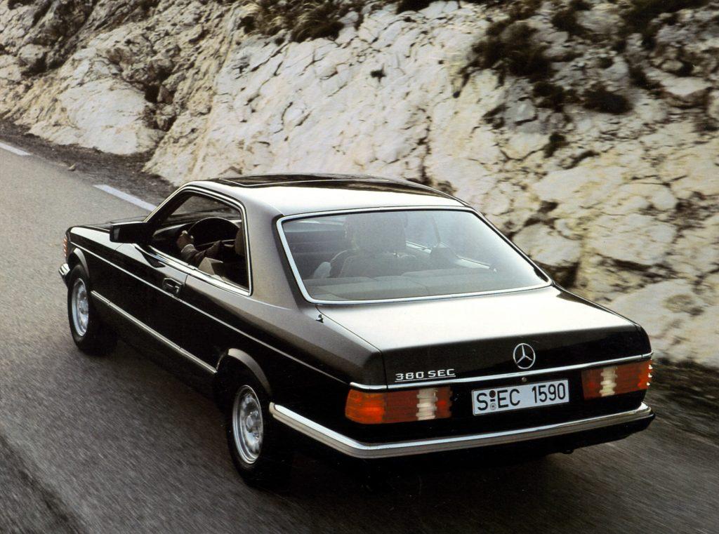 Mercedes-Benz 380 SEC (1981)