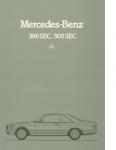 mercedes-benz w126sec-1981-borchure