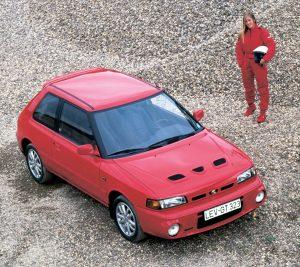 Mazda 323 GT-R (BG) - 1992