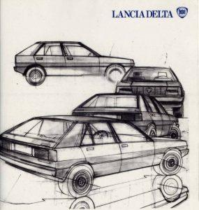 La Lancia Delta a été dessinée par Giorgetto Giugiaro (Ital Design)