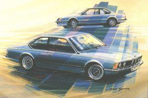 BMW Série 6 E24 (Paul Bracq)