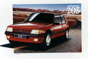 Peugeot 205 GTI 1L9 130 ch (1986)
