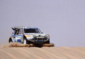 Peugeot 205 T16 Grand Raid - Paris-Dakar